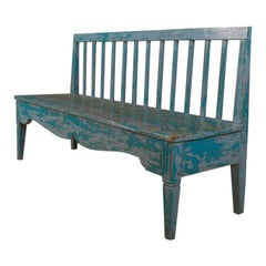 Swedish Original Painted Bench