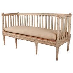Swedish Original Painted Sofa