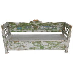 Swedish Painted Bench