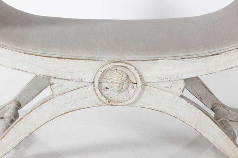 Swedish Painted Benches, circa 1880 For Sale 3