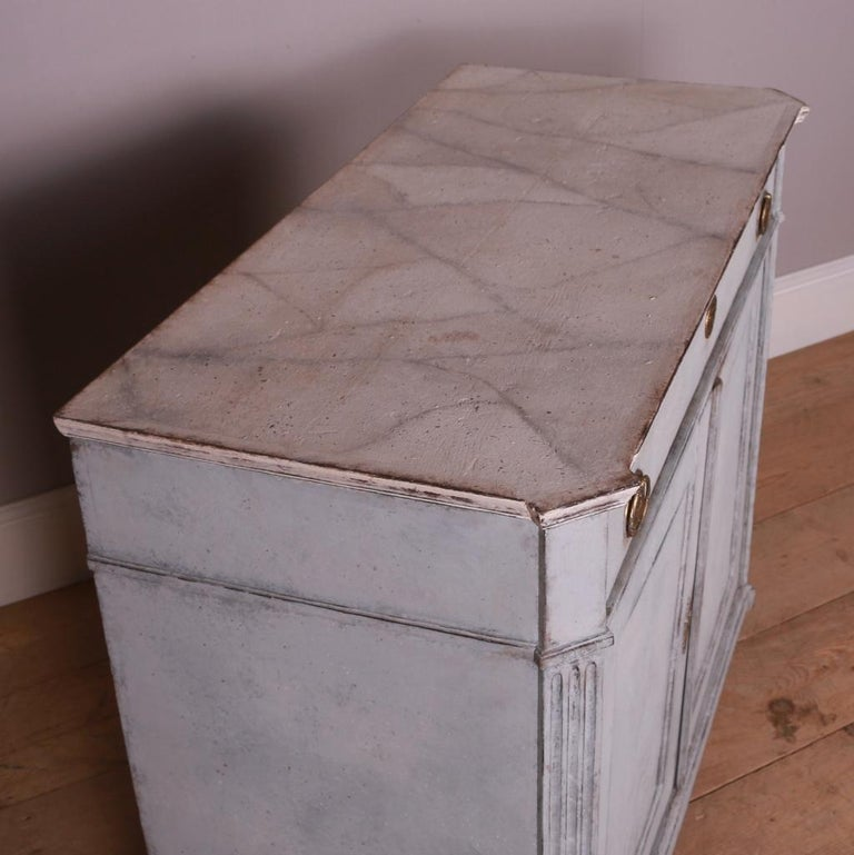 19th Century Swedish Painted Buffet For Sale