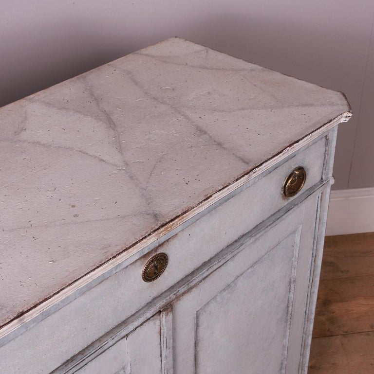 Swedish Painted Buffet For Sale 1