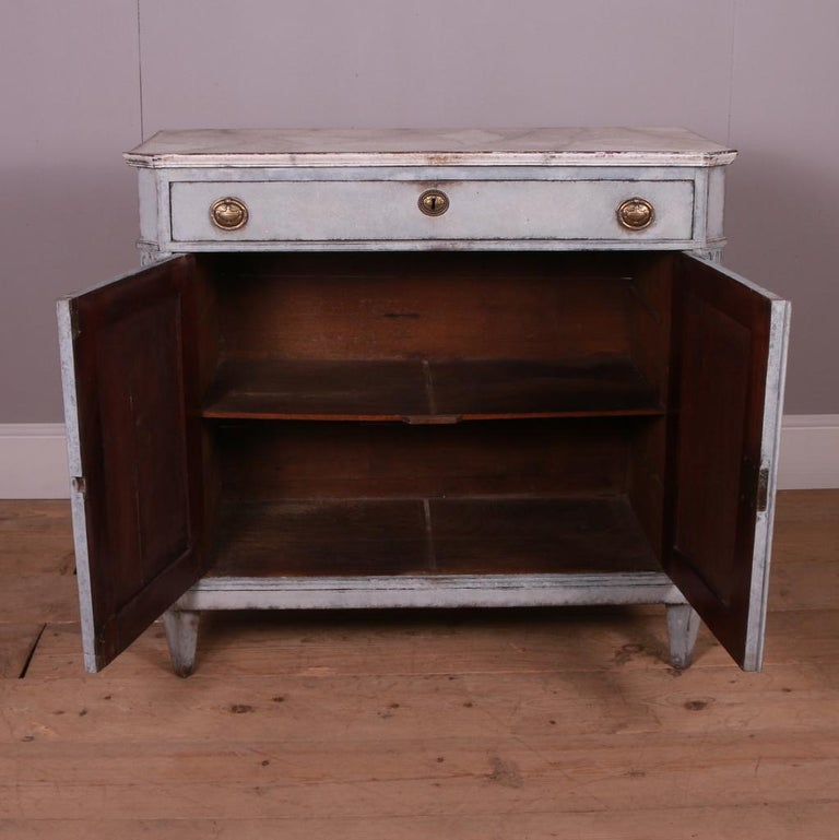 Swedish Painted Buffet For Sale 3