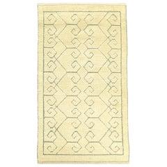 Swedish Pile & Flat-Weave Rug
