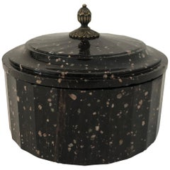 Swedish Porphyry Butter Box, Early 19th Century