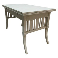 Swedish Pull Out Leaf Pine Table