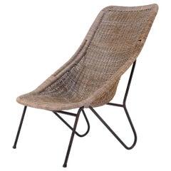 Swedish Rattan Chair, 1960s