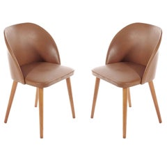 Swedish Retro Chairs in Birch from 1960s