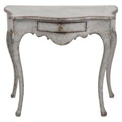 Swedish Rococo Console Table, 18th Century