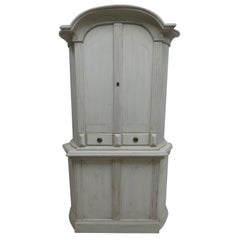 Swedish Rococo Corner Cabinet