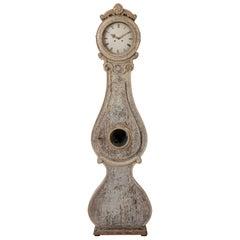 Swedish Rococo Long Case Clock