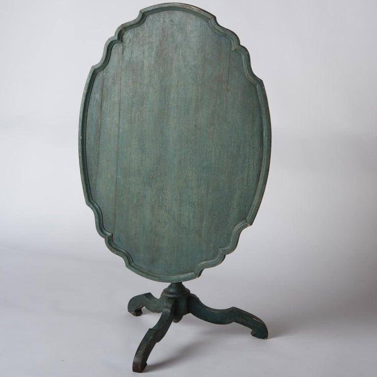 Swedish Rococo Period Flip Top Table, circa 1760 In Good Condition For Sale In New Preston, CT