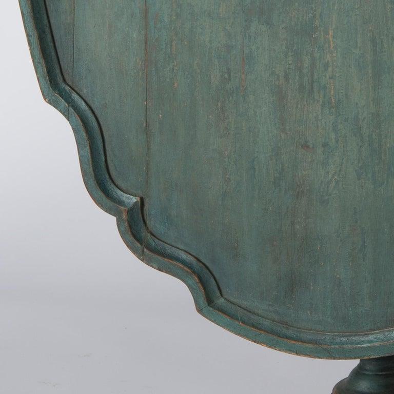 18th Century and Earlier Swedish Rococo Period Flip Top Table, circa 1760 For Sale