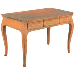 Swedish Rococo Period Writing Table