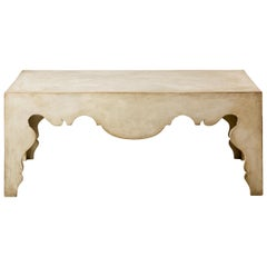 Contemporary Coffee Table with Painted Swedish Finish