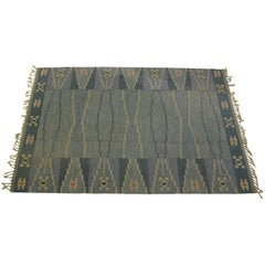 Swedish Rolakan Carpet by Ingegerd Silow