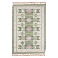 Swedish Rolakan Carpet Handwoven Wool