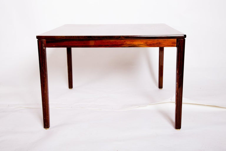 Scandinavian Modern Swedish Rosewood Coffee Table by Alberts Tribro, 1960s For Sale