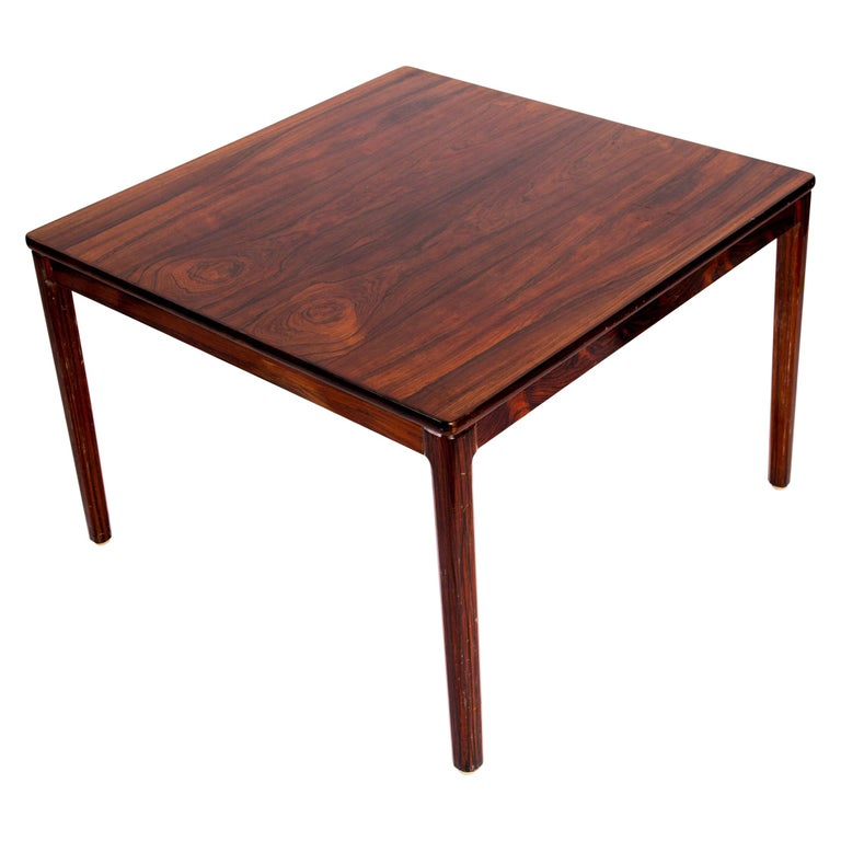 Swedish Rosewood Coffee Table by Alberts Tribro, 1960s For Sale