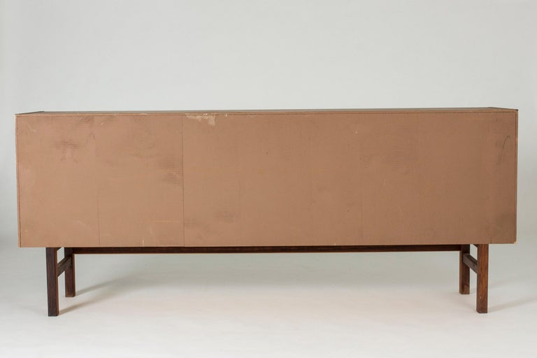 Swedish Rosewood Sideboard by Nils Jonsson for Troeds, 1960s For Sale 6