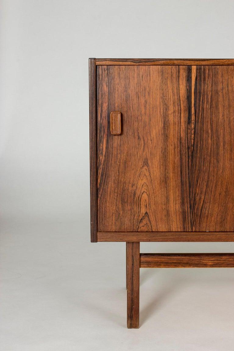Scandinavian Modern Swedish Rosewood Sideboard by Nils Jonsson for Troeds, 1960s For Sale