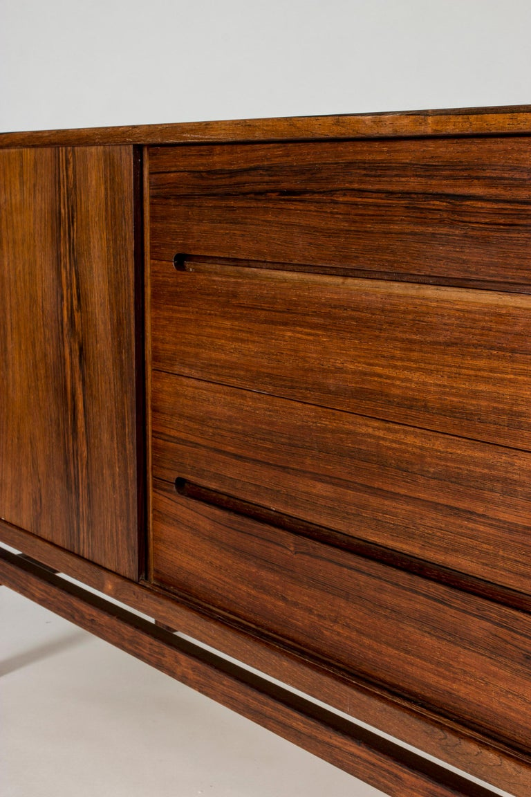 Swedish Rosewood Sideboard by Nils Jonsson for Troeds, 1960s For Sale 3