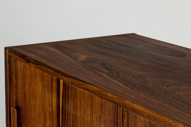 Swedish Rosewood Sideboard by Nils Jonsson for Troeds, 1960s For Sale 4