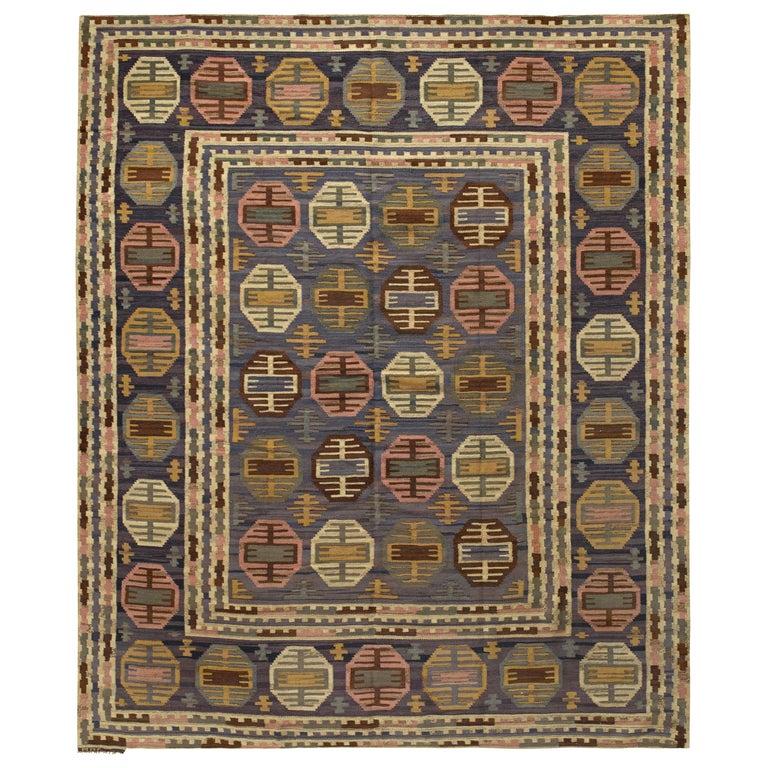 Märta Måås-Fjetterström Dukater rug, 1940, offered by Antique Rugs by Doris Leslie Blau