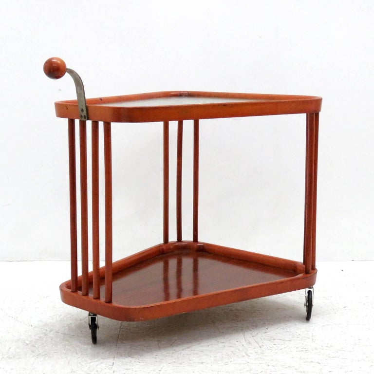 Swedish Serving Cart, 1960s In Good Condition For Sale In Los Angeles, CA