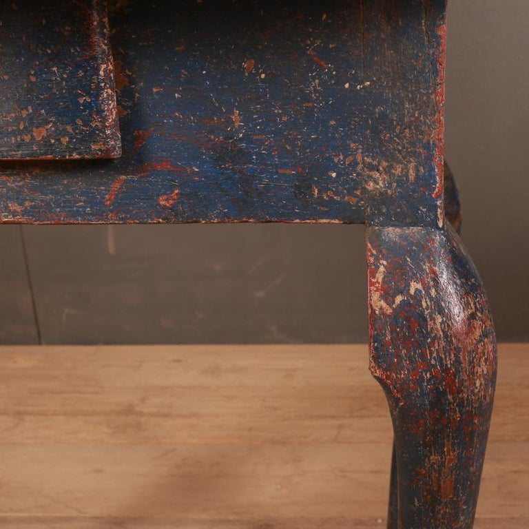 18th Century and Earlier Swedish Side Table For Sale