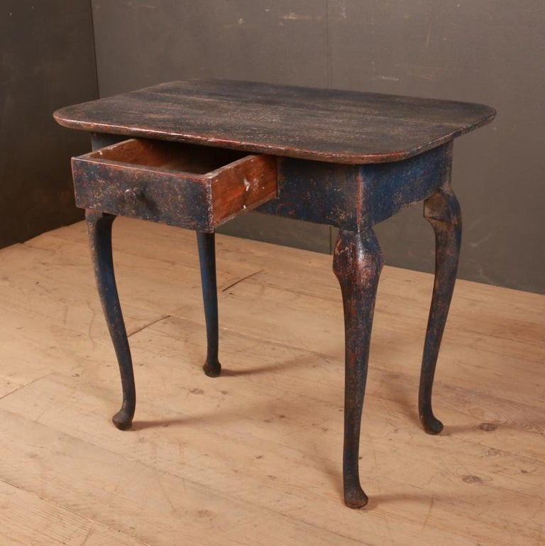 Swedish Side Table For Sale 1