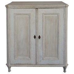 Swedish Sideboard with Fluted Doors