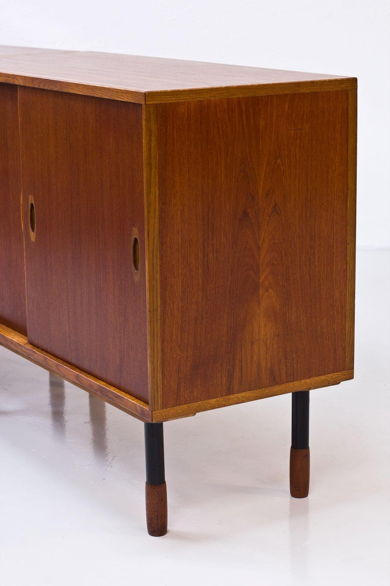 Oak Swedish Sideboards by Westbergs Möblers, 1950s, Set of 2 For Sale