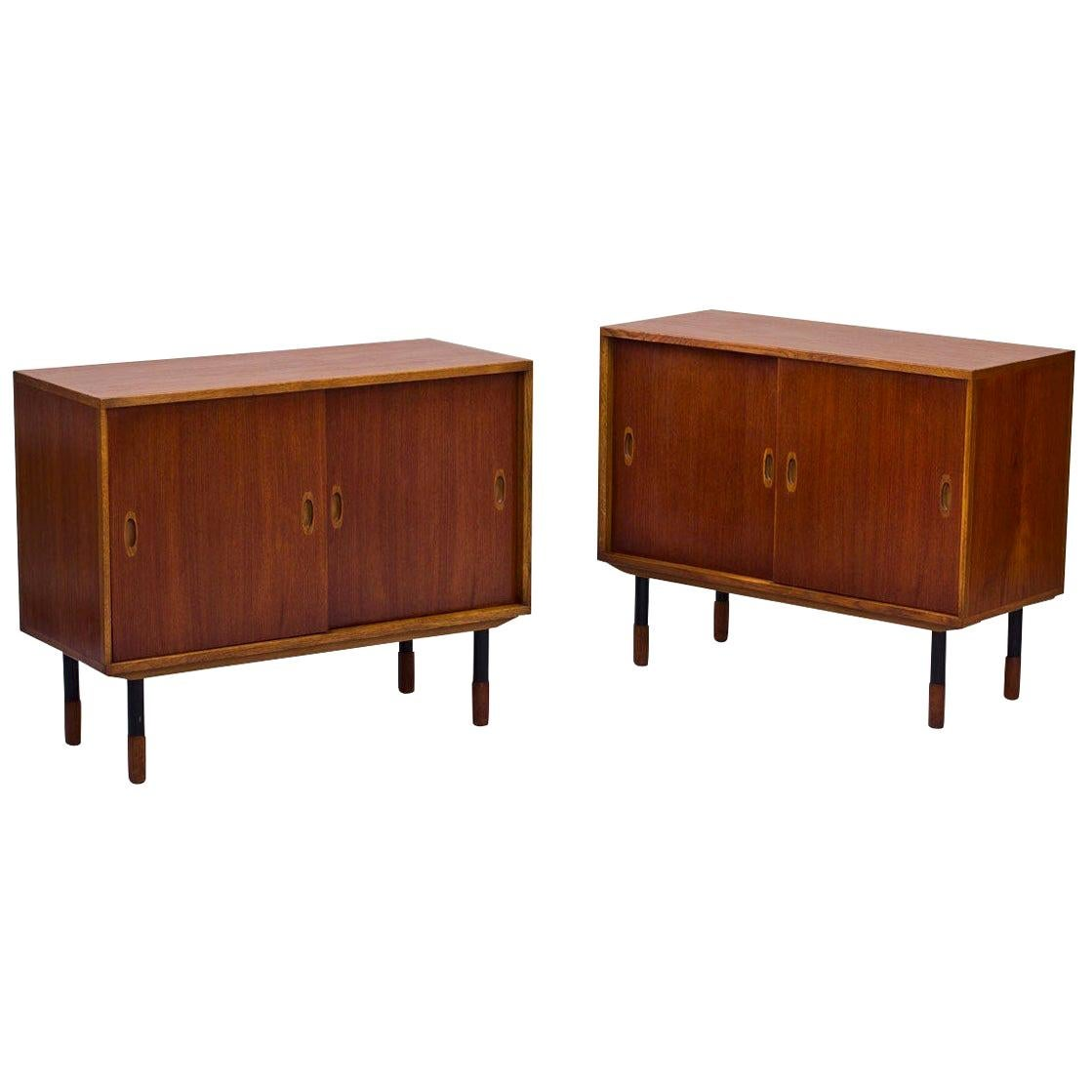 Swedish Sideboards by Westbergs Möblers, 1950s, Set of 2