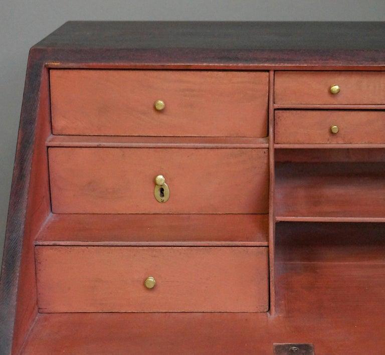 Gustavian Swedish Slant-Front Writing Desk For Sale