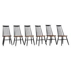 Swedish Slat-Back Chair, 1960s