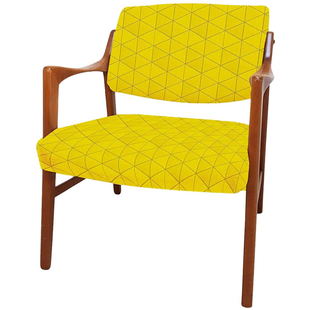 Swedish Solid Teak Chair by Inge Andersson for Bröderna, circa 1960s