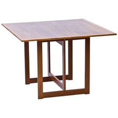 Swedish Square Coffee Table in Mahogany by Karl Andersson & Söner, 1950s