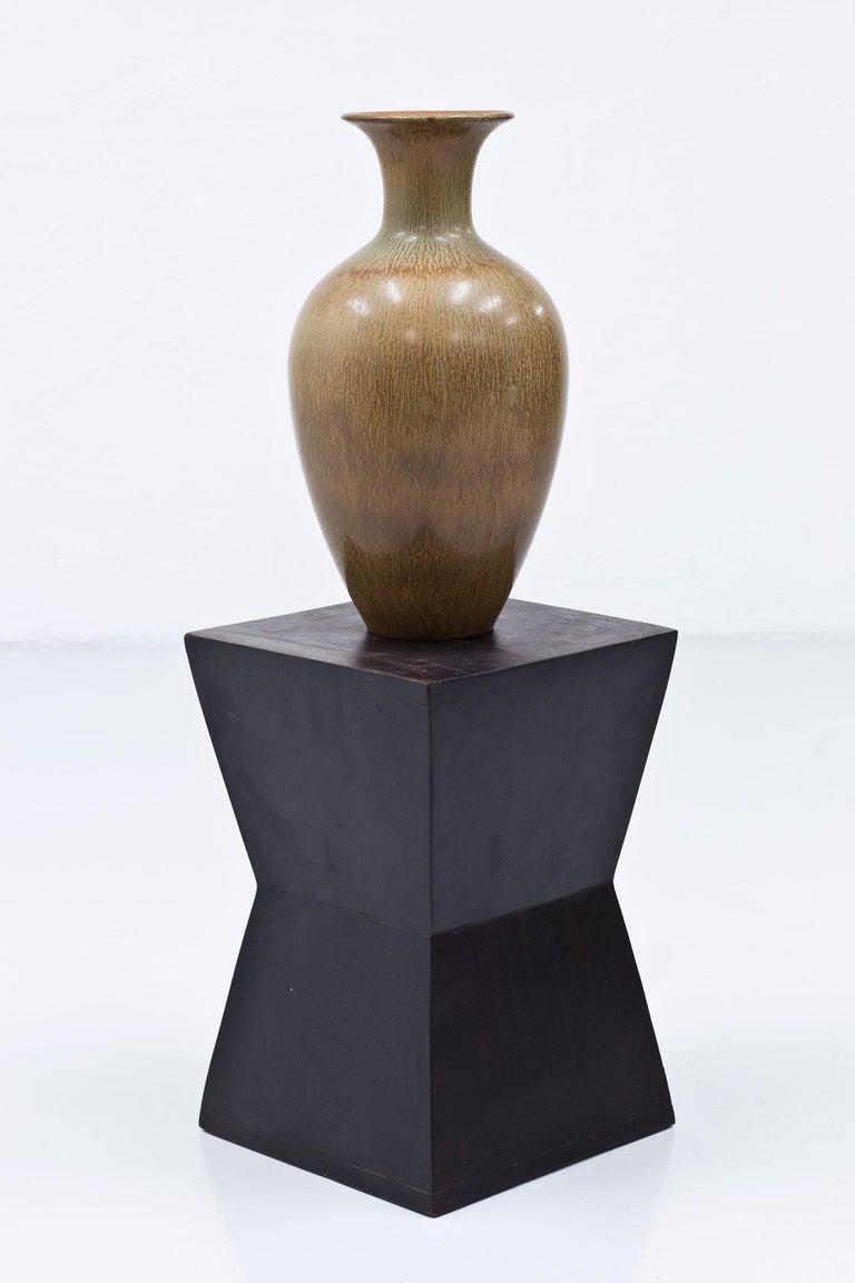 Scandinavian Modern Swedish Stoneware Floor Vase by Gunnar Nylund For Sale