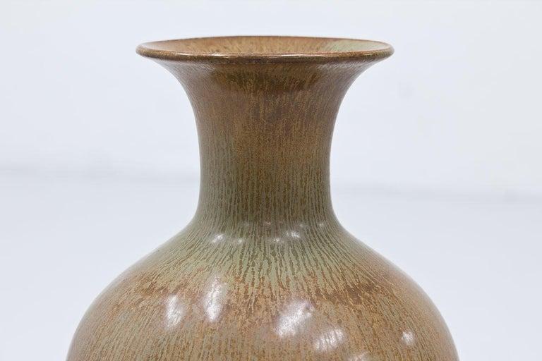 Swedish Stoneware Floor Vase by Gunnar Nylund For Sale 1