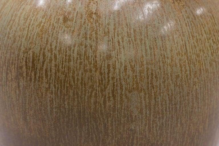 Swedish Stoneware Floor Vase by Gunnar Nylund For Sale 4