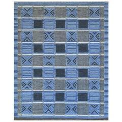 Swedish Style Flat-Weave Rug