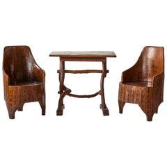 Swedish Table and Chair Set