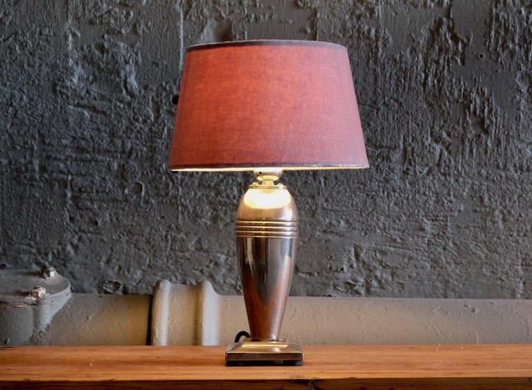 Swedish Table Lamp, 1960s In Excellent Condition For Sale In Stockholm, SE