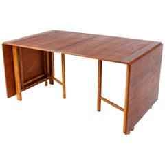 "Swedish Table ""Maria Flap"" by Bruno Mathsson, 1960s"