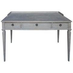 Swedish Three-Drawer Writing Table
