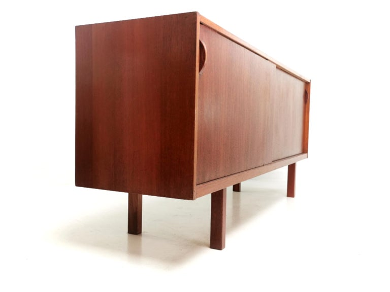 Mid-Century Modern Swedish Ulferts Teak Midcentury Sideboard 1960s, Danish Design