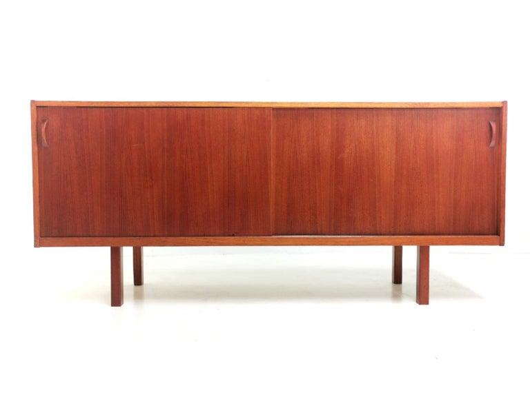 Swedish Ulferts Teak Midcentury Sideboard 1960s, Danish Design In Good Condition In STOKE ON TRENT, GB