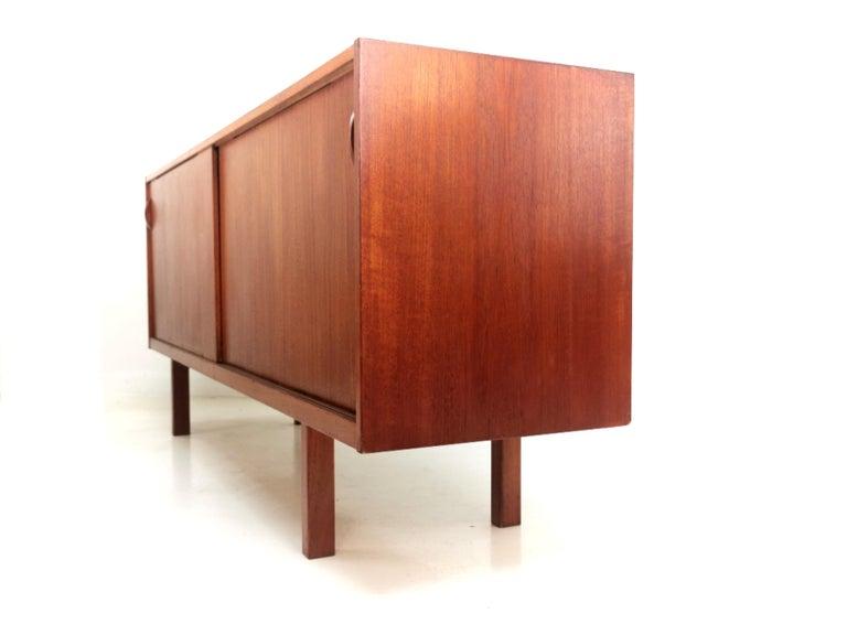 Swedish Ulferts Teak Midcentury Sideboard 1960s, Danish Design 4