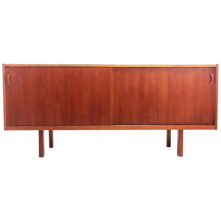 Swedish Ulferts Teak Midcentury Sideboard 1960s, Danish Design